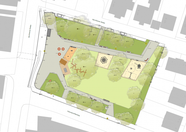 Entwurf Martin-Luther-Platz